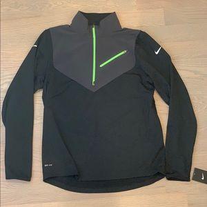 NWT Nike Dri-Fit Element Half-Zip Running Shirt L